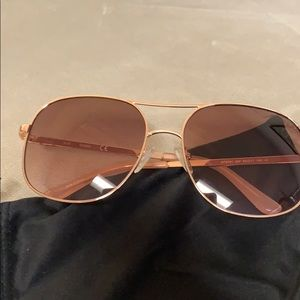 Rose Gold Guess Sunglasses